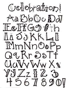 creative lettering - Google Search