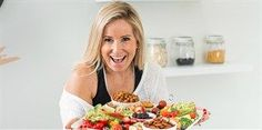 Kim Beach's snack platter is the answer to staying healthy while socialising