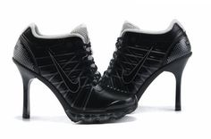 2012 New Women Nike High Heel Sneaker Boot Shoes -02 | Women Nike High Heel,Nike Sneaker Boots