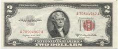 2 Dollars 1953B (Jefferson) Legal Tender Note
