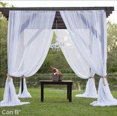Pérgola para decorar tú boda http://conbdeboda.blogspot.com.es/2013/05/una-pergola-para-tu-boda.html