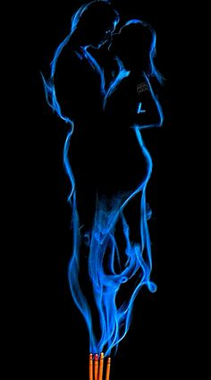 Simple Love Spell - Free Love Spells - Everything Under the Moon Free Love Spells, Art Amour, Flame Art, Under The Moon, Smoke Art, Fire And Ice, Love Images, Beautiful Pictures, Erotic Art