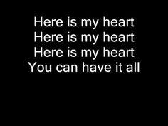 Jesus Culture - Here is my heart (lyrics) Praise And Worship Music, Worship Songs, Jesus Culture, Church Ideas, Christian Music, Sweet Sweet, Jesus Christ, Lyrics, Cards Against Humanity