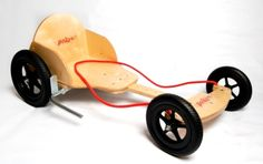 Get your little one a race kart - who knows, they might be the next Lewis Hamilton or Jenson Button! #woodentoys #racingkart