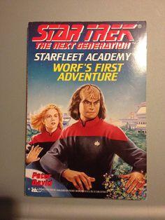 TNG STARFLEET ACADAMY BOOK #01