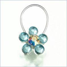 'something blue' lil toe ring :)