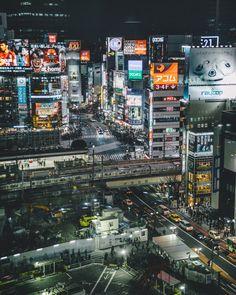 Una vista del cruce de Shibuya poco habitual, al... | Microblog de UnGatoNipón