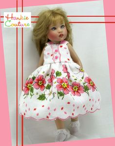 Pink flowers for Riley Kish by Hankie Couture ♡ http://hankiecouture.com ♡ #hankiecouture