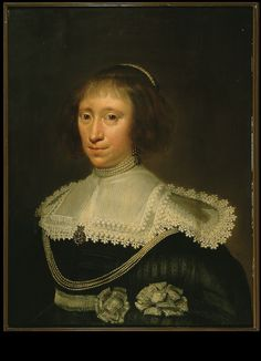 Date unknown - Mierevelt, Michiel Johansz.van -  Lady of Harinkarspel, married Johan Basius in 1602