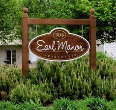 Smaller version for entrance Farm Entrance, Entrance Signage, Carved Wood Signs, Wooden Signs, Driveway Sign, Monument Signs, Sign Company, Farm Signs, Home Signs