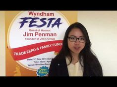 #WyndhamFESTA Ambassador Phuong-Thanh representing Vietnamese Community invites you to join #WyndhamFESTA with your friends and families  on NOV 5 at Werribee Racecourse http://nbaysevents.com.au/
