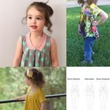 FREE PATTERN (with FB group coupon code) Abby's Sweet V-Neck