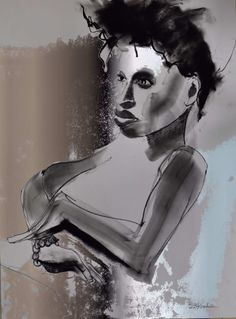 Jules No 1 18 X 24 Charcoal, Pastel and Digital Art Artist Painting Oil paintings Acrylic paintings Abstract paintings Figure drawing Life drawing Portrait Portraiture Oil Acrylic Figurative Women Female Fashion Erotic Beauty Spirit Model Captivate Mystic Light Shadow Love Beauty Glamour Figure Spiritual Mime Mother Princess Magic Mystery Moody Haunting Vulnerable Honest Eyes Trance Mesmerize Pensive Caricature