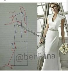 Couture Sewing Vestido Formal Clothing Patterns Dress Patterns Sewing Patterns Techniques Couture Sewing Techniques Make Your Own Dress Panel Dress Sewing Dress, Dress Sewing Patterns, Blouse Patterns, Sewing Clothes, Clothing Patterns, Diy Clothes, Wedding Dress Patterns, Blouse Designs, Fashion Sewing