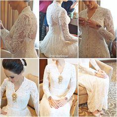 #weddingdress #bride #akadnikah #lace #beads #swarovski