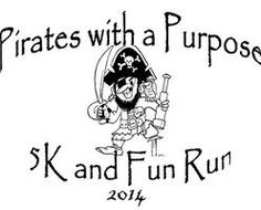 Pirates With A Purpose 5K: Byng, OK 11/1/2014