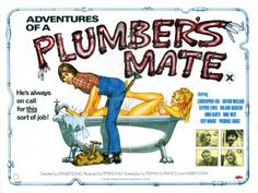 Adventures Of A Plumbers Mate 1978 Quad Poster British Comedy Movies, Confessions, Quad, Movie Tv, Adventure, Memes, Movie Posters, British Comedy Films, Meme