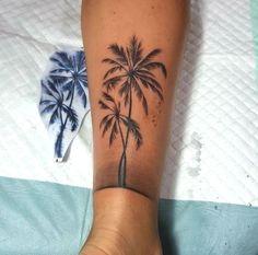Palm tree tattoo Tattoo Models The post Palm tree tattoo appeared first on Best Tattoos. Finger Tattoo Designs, Finger Tattoos, Tribal Tattoo Designs, Forearm Tattoos, Body Art Tattoos, Tribal Tattoos, Beach Tattoos, Fox Tattoos, Arabic Tattoos