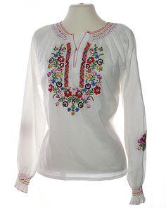 Vintage Hippie Clothes | Vintage Tops on 70s Hippie Folklore Vintage Top Blouse Gallerij Size ...