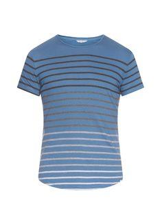 Orlebar Brown OB-T ombré-striped jersey T-shirt