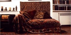 Freud's carpet draped couch