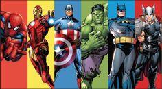 Superhero Party Games, Superhero Birthday Cake, Avengers Birthday, Batman Party, Boy Birthday, Birthday Parties, Avenger Party, Dc Comics Poster, Spiderman