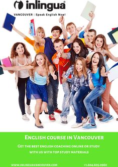 If you want to improve your English skills then join English course in Vancouver for a better future in English English Study, Learn English, Improve Your English, English Course, Study Materials, Vancouver, Improve Yourself, Join, Canada