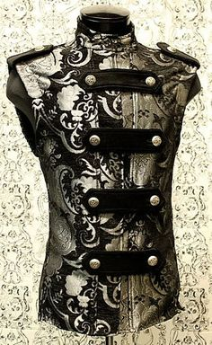 Mens Legion Vest by Shrine Clothing Gothic Dresses