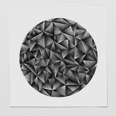 "Circle 6, Original pencil drawing A series of pen drawings called ""Circle""."