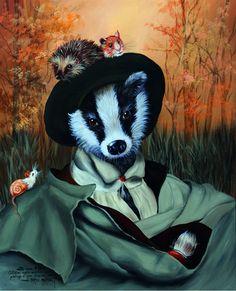 «Prenez un Zeste d'Esope, un peu de la Fontaine et de la Bruyère, un rien d'Alphonse Karr, une touche de Daumier, ajoutez le regard et les pinceaux de Sylvia KARLE-MARQUET,lâchezle tout devant les maitres du XVème au XVIIIème,elles vous les retournent avec humour critique de notre société pour en faire son «animalitude»». Sylvia Karle-Marqueta choisi, → Read more