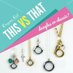 Do you like your locket with dangles or without?  Or do you like to wear the dangles on their own?