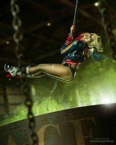 ❤️ Harley Quinn ❤️ fandom: Suicide Squad cosplay by: Katya Kosova photo: Tim Rise Deadshot, Harley Quinn Cosplay, Joker And Harley Quinn, Dc Cosplay, Injustice 2, Es Der Clown, Margot Robbie Harley Quinn, Hq Dc, Daddys Lil Monster