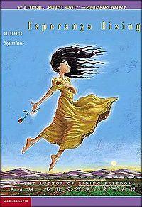 Book Groups: Esperanza Rising by Pam Munoz Ryan. Rdg Lvl: 5.5. Prejudice, Poverty, Social Class MAYBE - Pending enough books