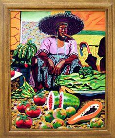 Cuban Art I want this painting! African American Artist, American Artists, Orishas Yoruba, Cuba Art, Latino Art, Haitian Art, Caribbean Art, Culture, Figure Painting
