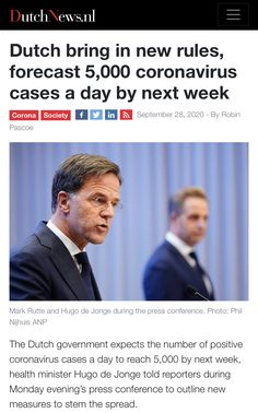 Dutch Government, Next Week, Amsterdam, September, Bring It On, Positivity, News, Day