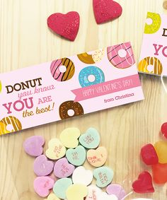 Donut Love Personalized Treat Bag - Set of 24. #ad http://shopstyle.it/l/tgPJ
