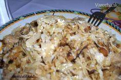 Koložvárska kapusta (fotorecept) 20 Min, Macaroni And Cheese, Spaghetti, Menu, Cooking Recipes, Chicken, Ethnic Recipes, Menu Board Design, Chef Recipes