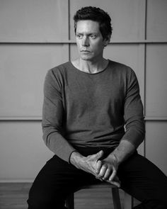 Nathan Page, actor. Grooming by @jess_diez , styling @vivavayspap ,photo by @sammcadam_cooper #bw #portrait