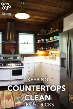Is decluttering one of your 2017 New Years' Resolutions? Cleaning the kitchen can be a large task, but these 5 No-Fail Tips for Uncluttered Counters All Year Long can keep you on track. Not only will you be a pro at kitchen organization, but your roommates, family, or company in general will definitely follow suit.