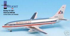 American Airlines B-737-200 (N461GB), Inflight200