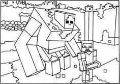 Image result for minecraft coloring pages