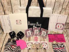 12 Person Bunco Game Starter Kit: Score by TheBuncoEuchreQueen