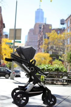Stokke Trailz stroller in NYC