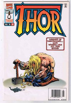 Rare And Classic Thor Comics, Vintage Thor Comics, Thor Comic Books, Journey into Mystery Thor Comic Book, Comic Book Covers, Comic Art, Comic Books, Archie Comics, Marvel Dc Comics, Marvel Heroes, Dc Universe, Don Corleone