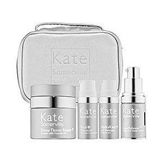 Kate Somerville The Ageless Collection Kit Comes with Deep Tissue Repair HydraKate Face Serum Line Release Under Eye Repair  Total Vitamin Face Serum ** This is an Amazon Affiliate link. Details can be found by clicking on the image.