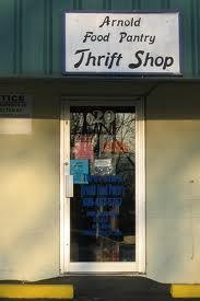 Arnold Fodd Pantry Thrift Shop