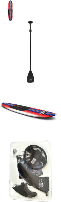 Stand Up Paddleboards 177504: Stand-Up Paddle Board Set Fins Traction Pad Camera Mount Paddle Surf Leash 8 -> BUY IT NOW ONLY: $237.68 on eBay!