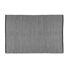 Vloerkleed zwart/wit - 120x180 cm | Xenos