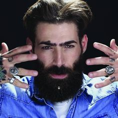 Krato milano'dan sakal aksesuarları Krato presents beard accessories .. #beard#accessori#italiandesign#italianjewelry#schmuck#accessories#accesorie#menjewellery#menjewelry#takı#sakal#mücevher#pr#marketing#manfashion#menfashion#erkekmodası#erkek#instacool#fashionjewelry#instajewels#jewelryaddict#malefashion#moda#yüzük#jewellerymagazine#piercing#aksesuar