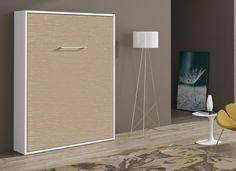 Lit Escamotable 140x190 Cm Verticale Espacia Lit Escamotable Armoire Lit Escamotable Decoration Maison